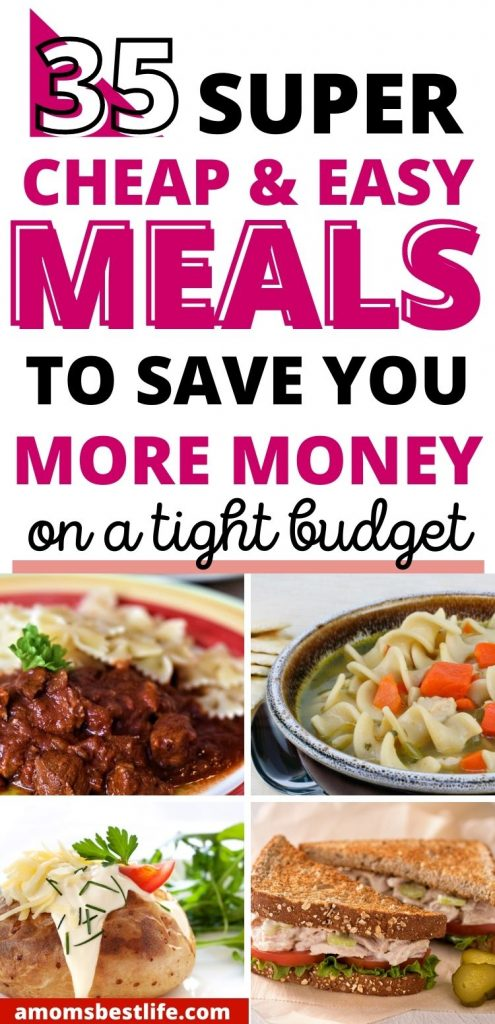 frugal meals - frugal meals for families